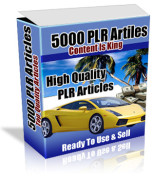 5000 PLR articles – $97.9
