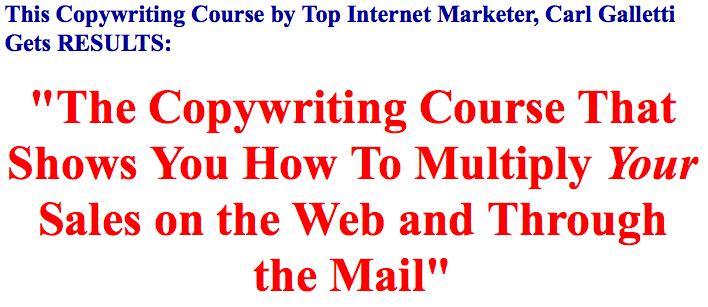 Imwarriortools free download carl galletti copywriter copywriting course by top internet marketer spiritdancerdesigns Gallery