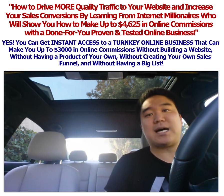 Internet Traffic Formula By Vick Strizheus – $1497