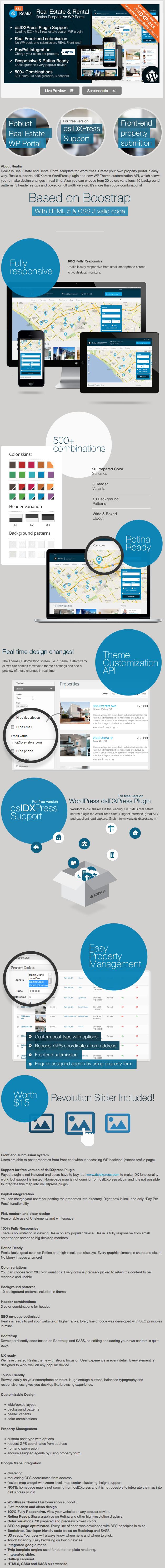 Realia - Responsive Real Estate WordPress Theme2