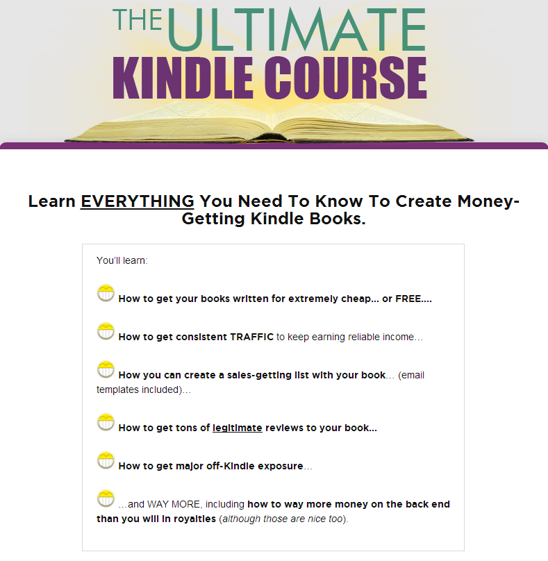The Ultimate Kindle Course