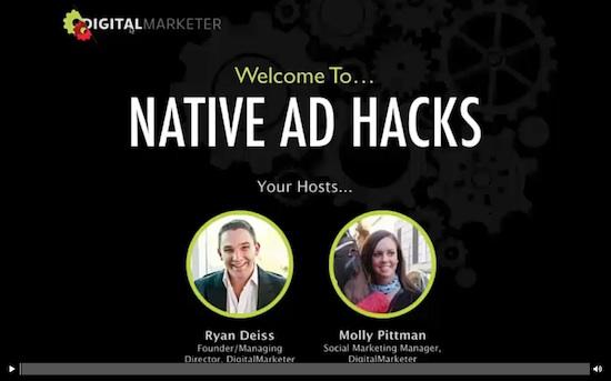 Ryan Deiss – Native Ad Academy – $491