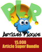 15,000 Article Super Bundle