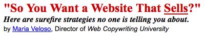 website that sells