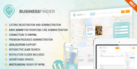 Business Finder- Directory Listing WordPress Theme