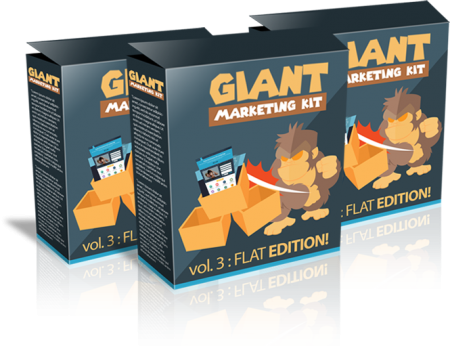 GIANT MARKETING KIT VOL. 3 – FLAT EDITION!FREE