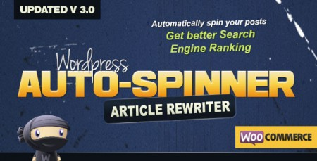 WordPress Auto Spinner – Articles Rewriter Free