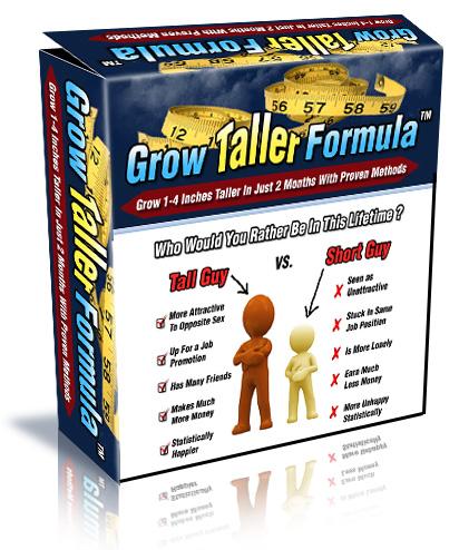 Grow Taller Formula – VAlue $97