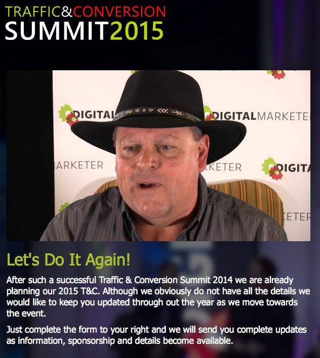 Ryan Deiss - Traffic & Conversion Summit 2014 – Value $997