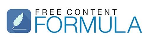 Free Content Formula Free Download 2