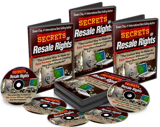 Secret of Resale Rights download