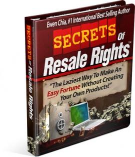 Secret of Resale Rights free download