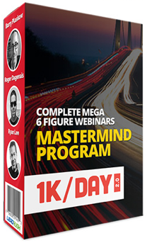 1K Per Day 2.0 Mastermin By Ryan Lee and Barry Plaskow