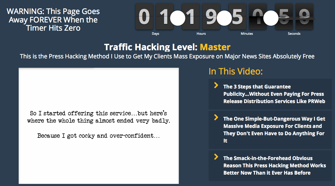 Hacking Traffic – The Single Most Profitable Service to Offer Clients – Value $99