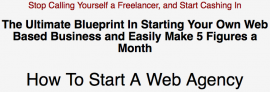 OFFLINER WSO OF THE YEAR – Ultimate Blueprint To Starting Your Own Web Agency