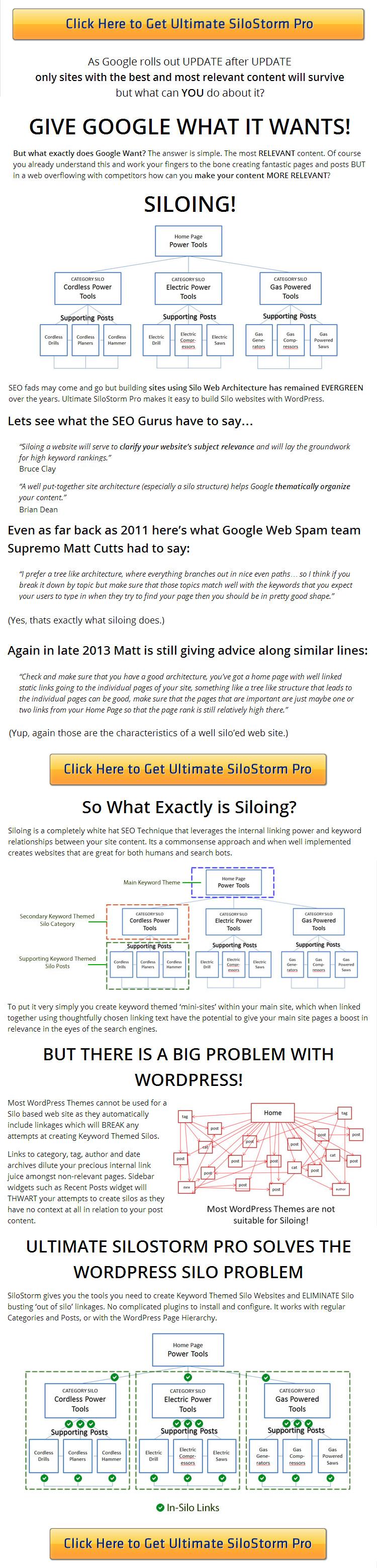 ULTIMATE SILOSTORM PRO - WordPress SILO SEO Theme - NEW from HEATMAPTHEME-2