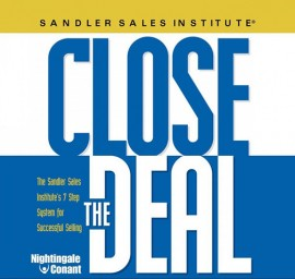 Close The Deal – Sandler Sales Institute