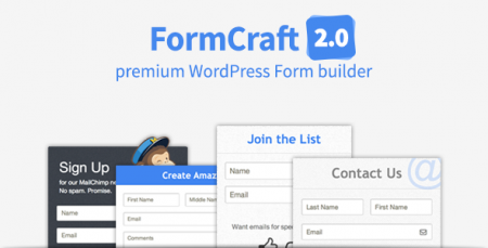 FormCraft – Premium WordPress Form Builder