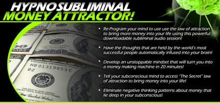 Hypnosubliminal Money Attractor