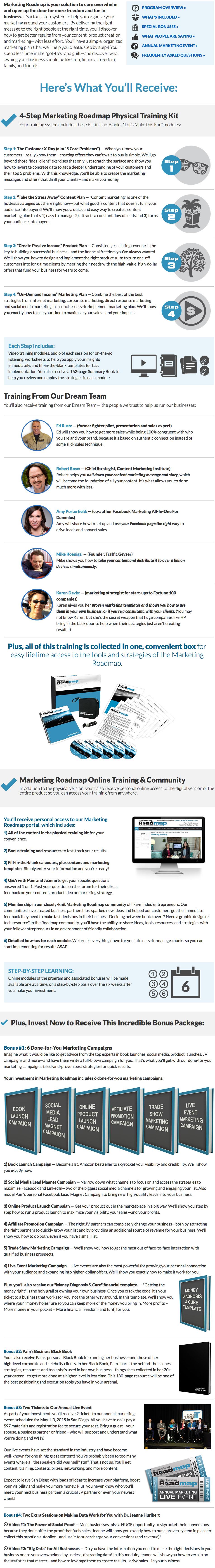 Pam Hendrickson – Marketing Roadmap 2014 -2