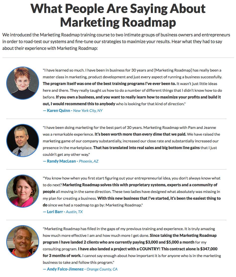 Pam Hendrickson – Marketing Roadmap 2015 -3