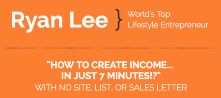7-Minute Income – Ryan Lee