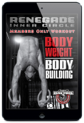 Body Weight Body Building – Value $9.95