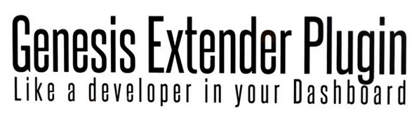 Genesis Extender WordPress Plugin