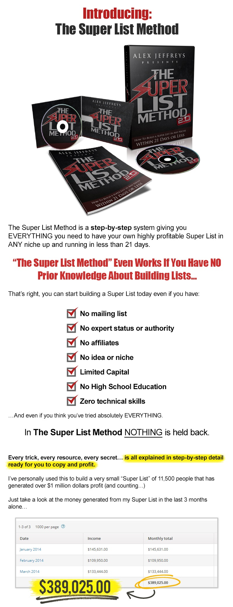 The Super List Method p3