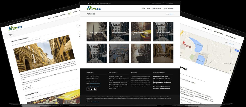 A1 Pro v2.0.1 WordPress Theme screenshot2