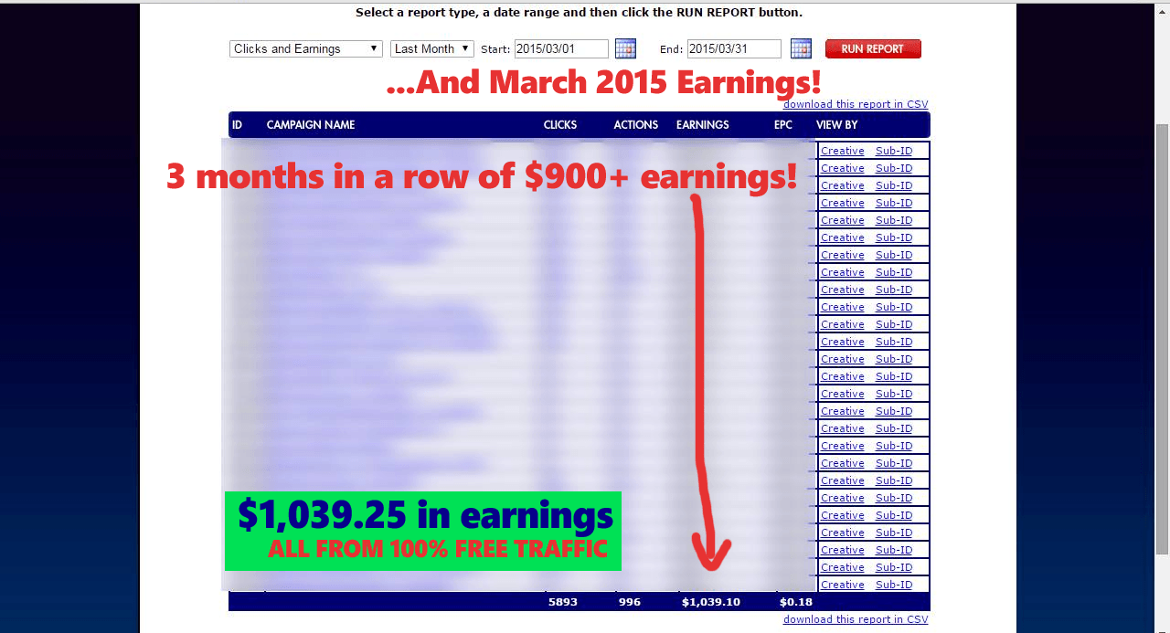 CPA Giveaway Frenzy + OTO income-screenshot-MAR