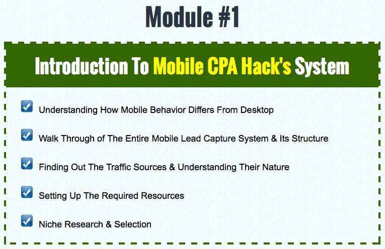 CPA Mobile Hacks