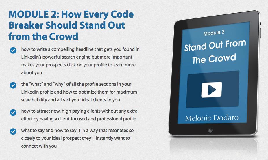 Cracking the LinkedIn Code 29