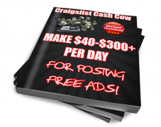 Craigslist Cash Cow – Make $40 to $300 Per Day – Value $37