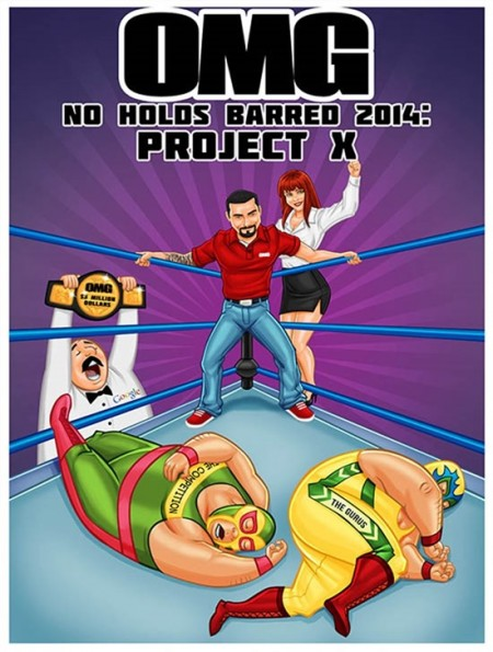 OMG Machines- No Holds Barred 2014 – Project X
