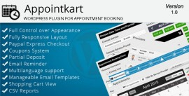 Appointkart – Appointment Booking for WordPress