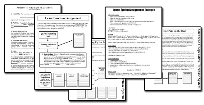 Adam King – Cooperative Purchase Sample agreements
