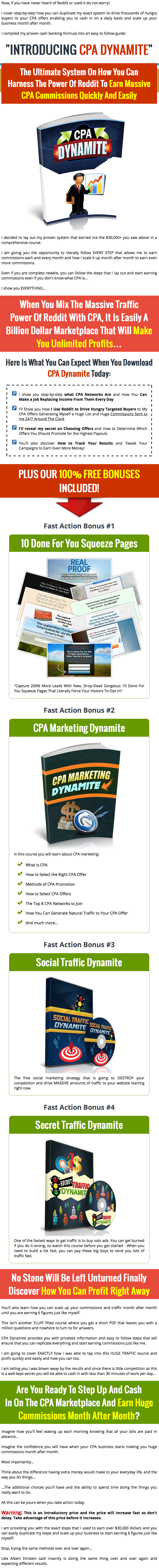CPA Dynamite Gold Package