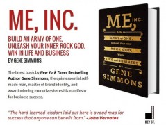 Gene Simmons – Me, Inc Build an Army of One – Value $26.99