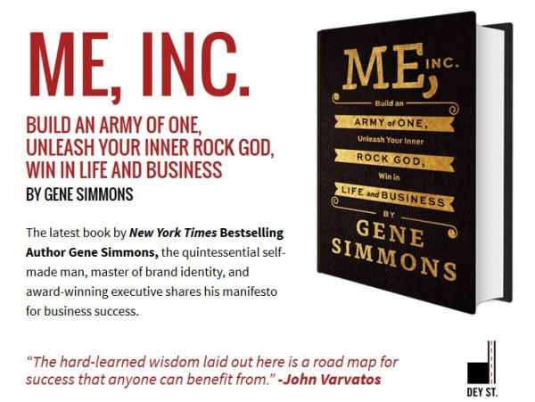 Gene Simmons - Me, Inc Build an Army of One