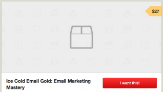 Ice Cold Email Gold, The Key To Getting Clients With Email Marketing Mastery – $27