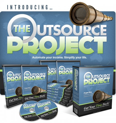 The Outsource Project by Mark Thompson