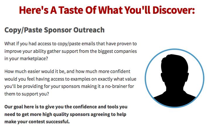 Travis Ketchum - The Contest Sponsor Method 3