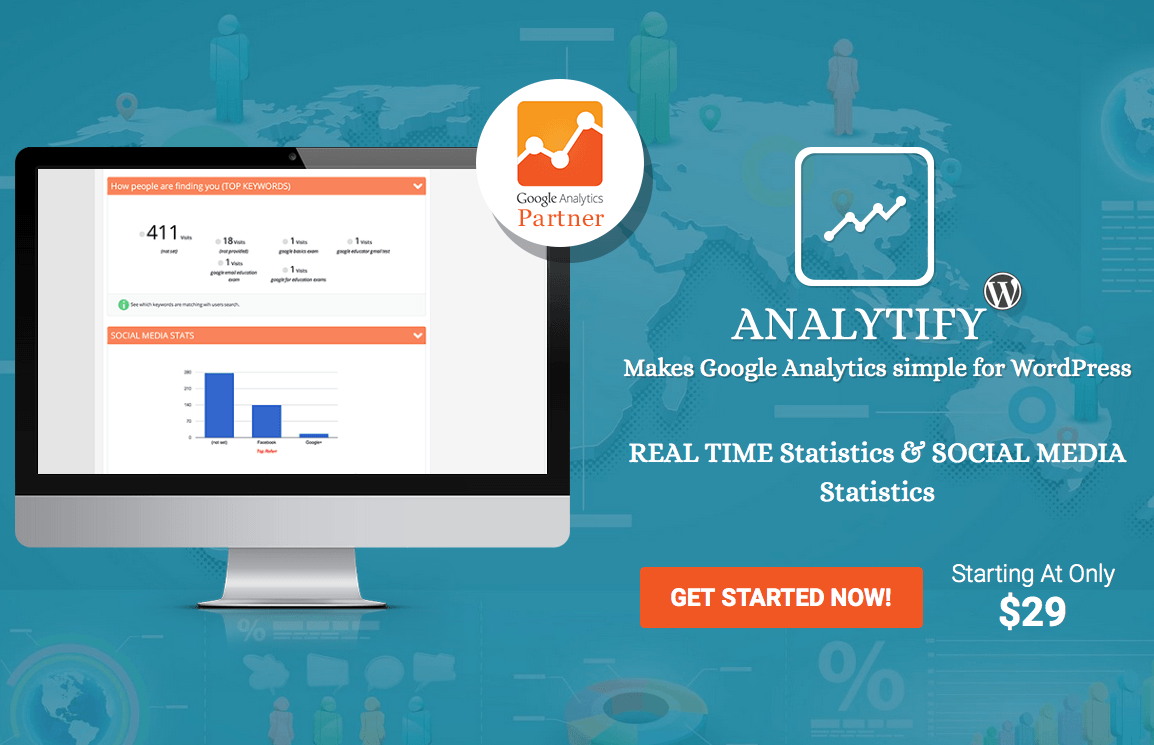 Analytify Pro + Woocommerce Extension