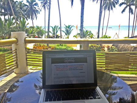 Digital Nomad Academy - Build a Location Independent Lifestyle Business working-location-independent