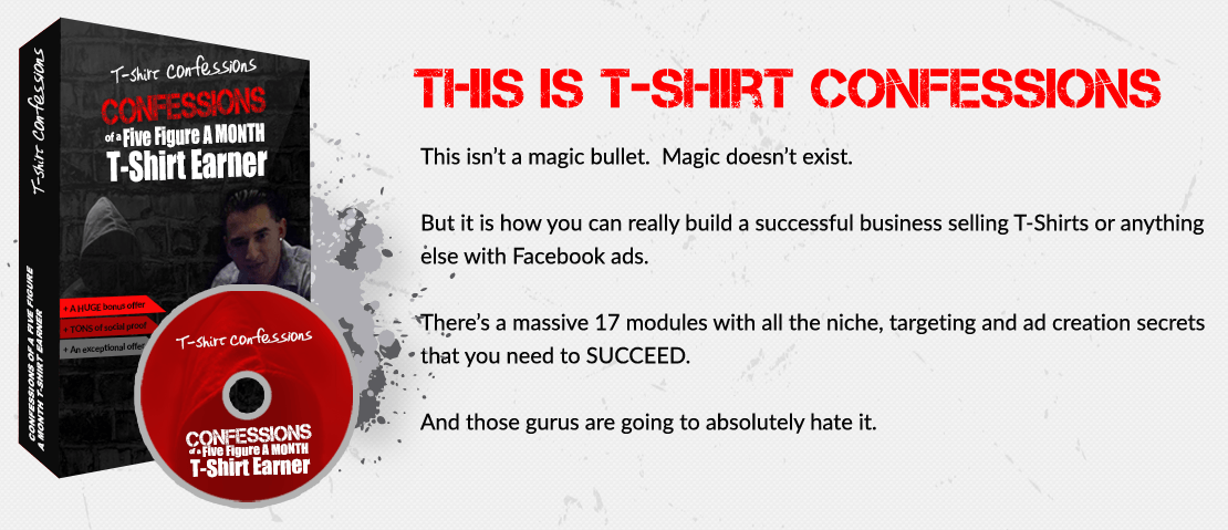 Tee Shirt Confessions Complete Course + Bonuses11