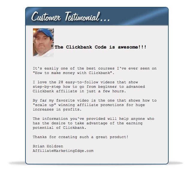 The Clickbank Code Michael Jones2