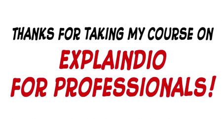Explaindio For Professionals