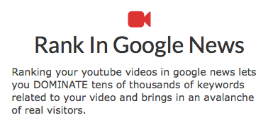 YouToNews – Rank Youtube Videos In Google News and Dominate The Web SERPS