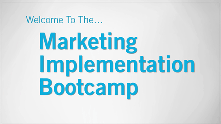 Eben Pagan – Marketing Implementation Bootcamp